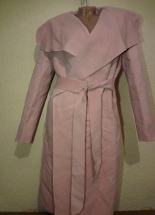 Шикарное потрясающее двубортное пальто simplee размер l