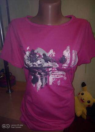 Замечательная коттоновая футболка -m-l-xl- s.oliver-