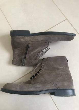 Ботинки кожаные мужские hugo boss размер 44