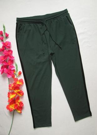 Красивенные модные стильные брюки бутылочный зеленый с велюров...