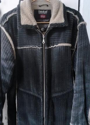 Куртка зимняя вельвет