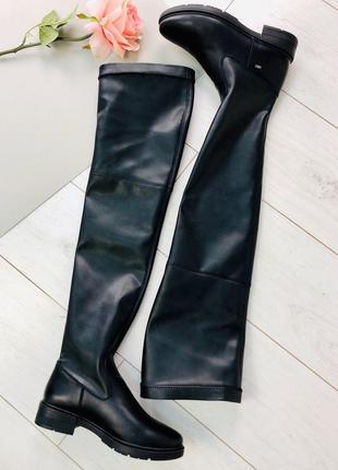 Lux обувь! натуральные кожаные демисезонные женские сапоги бот...