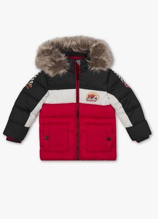 Супер крутая фирменная стеганая куртка для мальчика 98 см