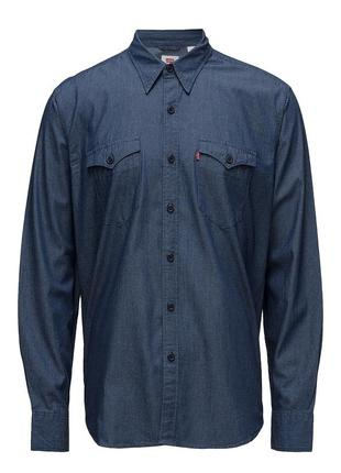 Levi's men's modern barstow western shirt мужская хлопковая ру...