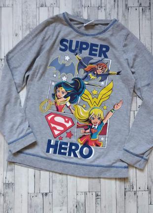 Реглан кофта свитшот Super hero girls на девочку 11-12 лет