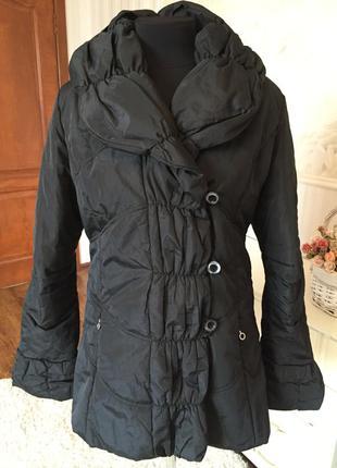 Теплая, стильная курточка, италия, размер 48.