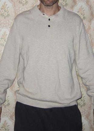 Джемпер кофта eddie bauer свитер премиум качество, оригинал - l.