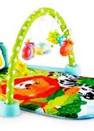 Коврик для младенца с игровой панелью на р/у 9917-9918 (2 вида)