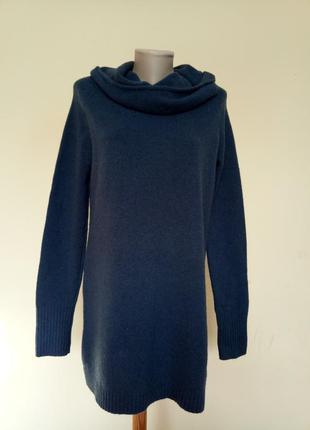 Стильный теплый брендовый свитер шерсть