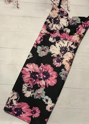 Платье цветы яркое модное нарядное от quiz