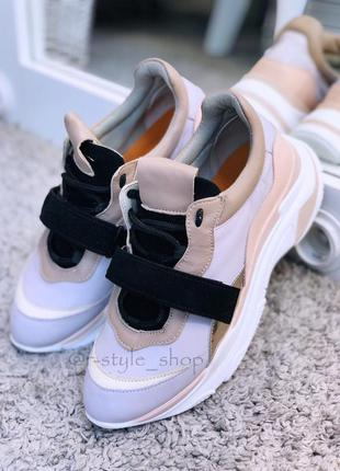 Лиловые кроссовки