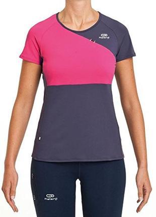Суперовая спортивная футболка с контрастными вставками kalenji