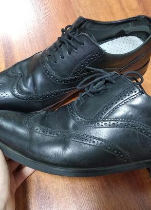Классические туфли бу мужские кожа