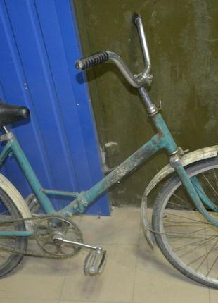 Велосипед Салют складной