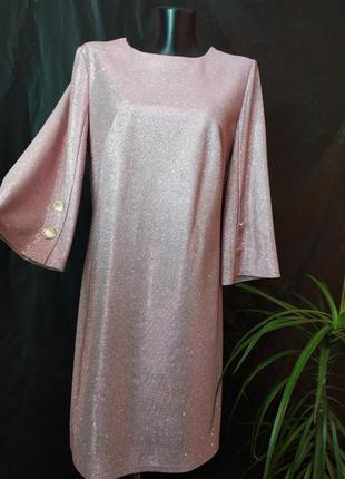 Шикарное блестящее платье joulie