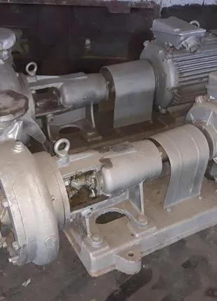 Насос К290/30 с двигателем, к160/30