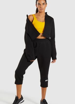 Спортивный костюм gymshark джогери и трек топ
