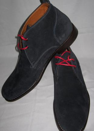 Ботинки gant,италия,натуральная замша ,раз 44