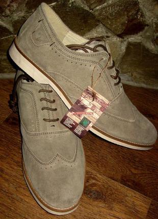 Туфли lumberjack,натуральная замша ,очень легкие ,мягкие,раз 43