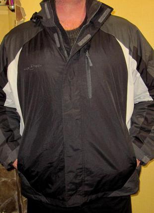 Куртки американского бренда free tech ,флисовая подкладка