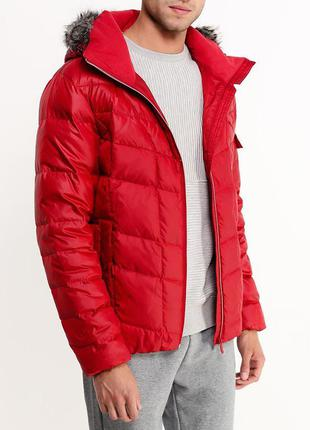 Пуховик puma style down jacket, раз l, xxl