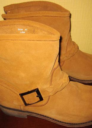 Замшевые ботинки blackstone,раз 41