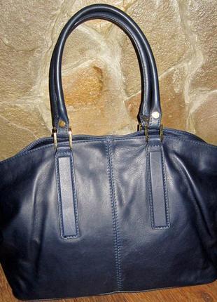 Кожаная итальянская сумка-2100гр
