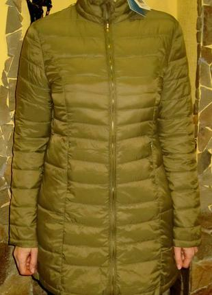 Удлиненная куртка итальянского бренда fracomina,раз  m .l