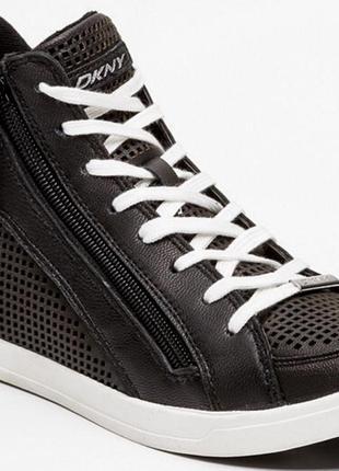 Ботинки dkny,натуральная кожа ,раз 37, 38.5