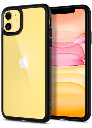 Чехол Spigen Ultra Hybrid для iPhone 11   Matte Black