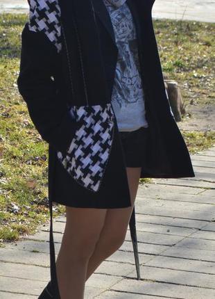 Пальто весеннее, демисезон, ткань кашемир