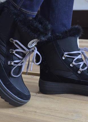 Зимние ботинки на узкую стопу