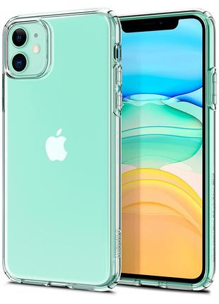 Чехол Spigen Liquid Crystal для iPhone 11  Crystal Clear