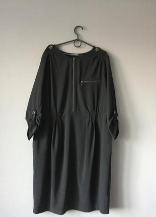 Стильное платье marks&spenser 18--54 размер.