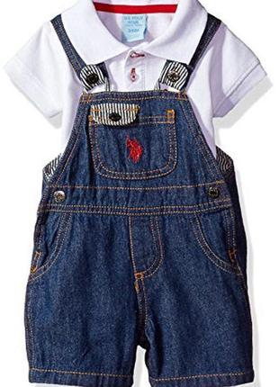 Модный комплект двойка малышу u.s. polo assn. оригинал
