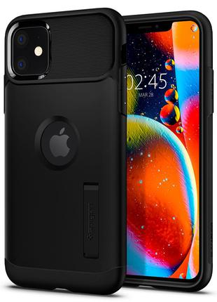 Чехол Spigen Slim Armor для iPhone 11  Black