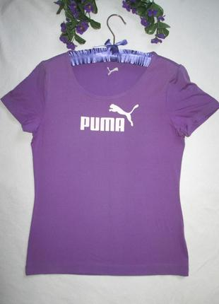 Стрейчевая спортивная футболка puma