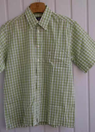 Рубашка короткий рукав strellson swiss cross