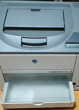 Лазерный цветной принтер konica minolta magicolor 2530 dl