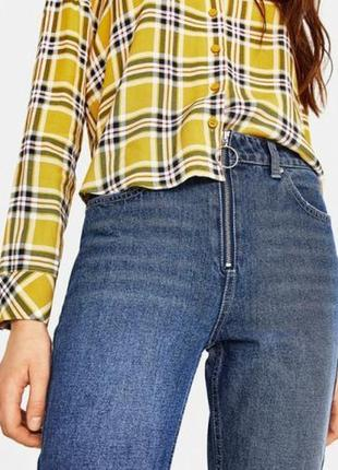 Фірмові джинси з замком і кольцом bershka