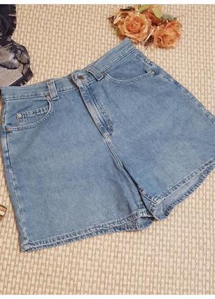 Джинсовые шорты с высокой посадкой authentic clothing