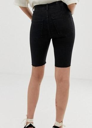 ❤️❤️❤️завышеные джинсовые шорты бриджи хорошего качества