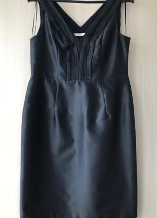 Нарядное платье миди BGN / XL / натуральный шелк