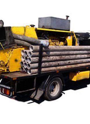 Услуги стационарных бетононасосов трасса до 200 м, до 35 этажа