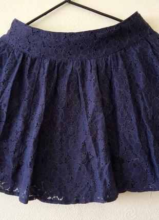 Стильная, молодежная, кружевная, ажурная юбка. бренд аtmospher...