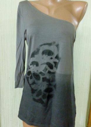 Стильная, шикарная блуза на одно плечо. бренд bonprix. раз.укр...