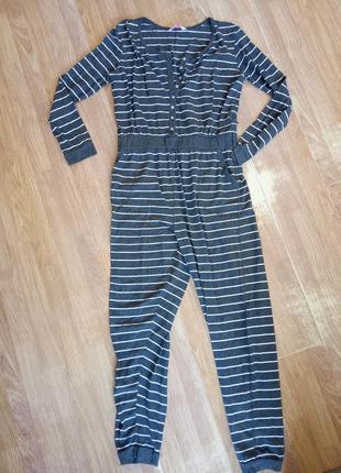 Брендовая, трикотажная пижама - слип. бренд secret possessions.
