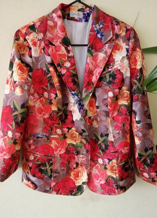 Стильный женский цветной пиджак.  бренд katherine
