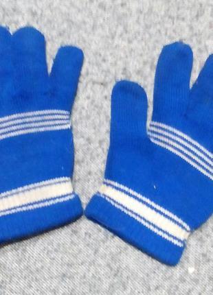 Перчатки трикотажные, детские
