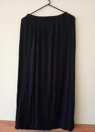 Шикарная, брендовая, трикотажная юбка в пол.  бренд atmosphere...